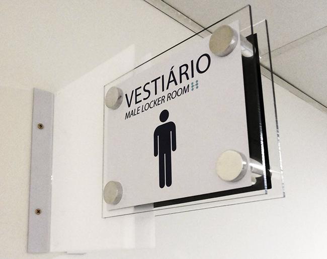 Placa para Hospital de Curitiba