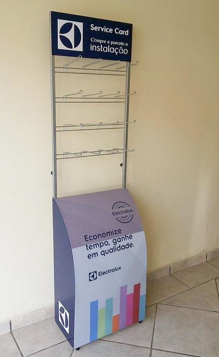 Expositor produzido para Electrolux