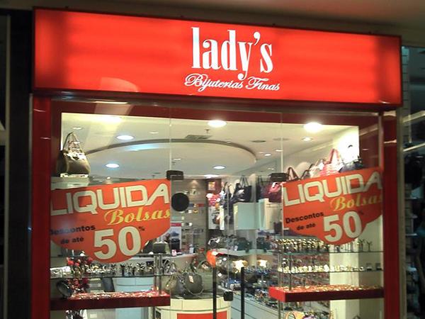 Luminoso Backlight para loja de Curitiba