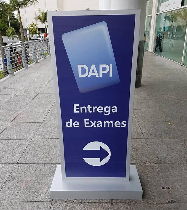 Dapi exames